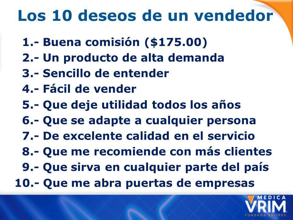 Los 10 deseos de un vendedor