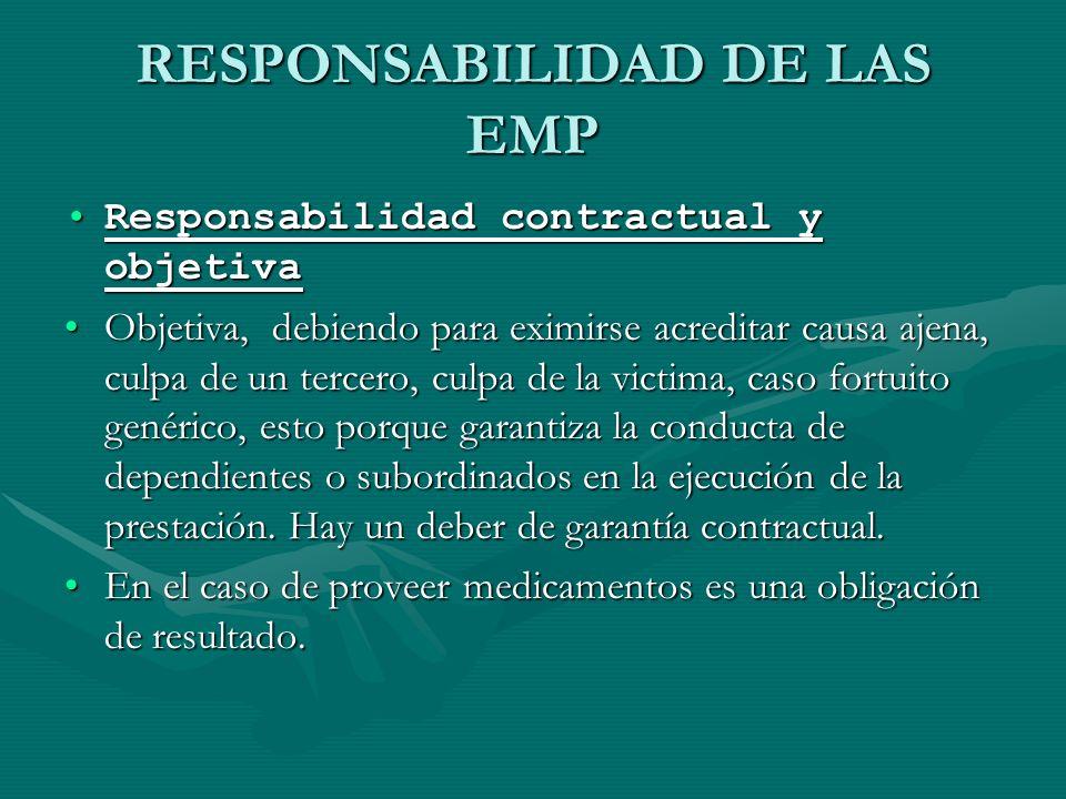 RESPONSABILIDAD DE LAS EMP