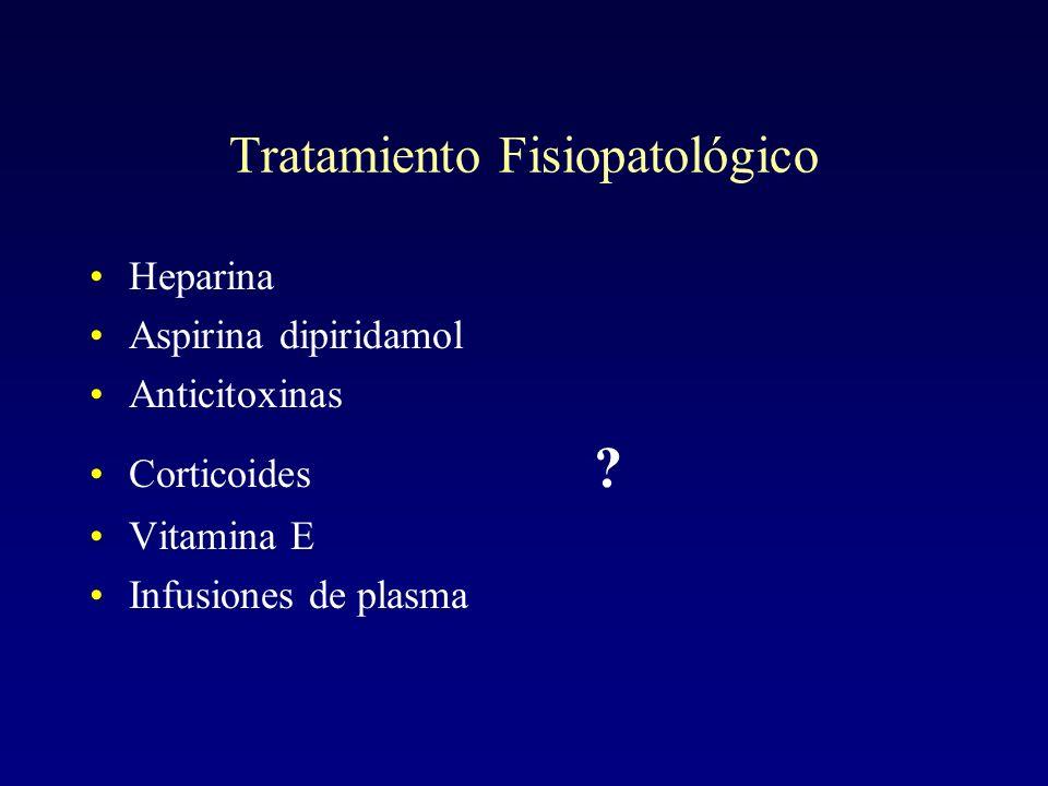 Tratamiento Fisiopatológico