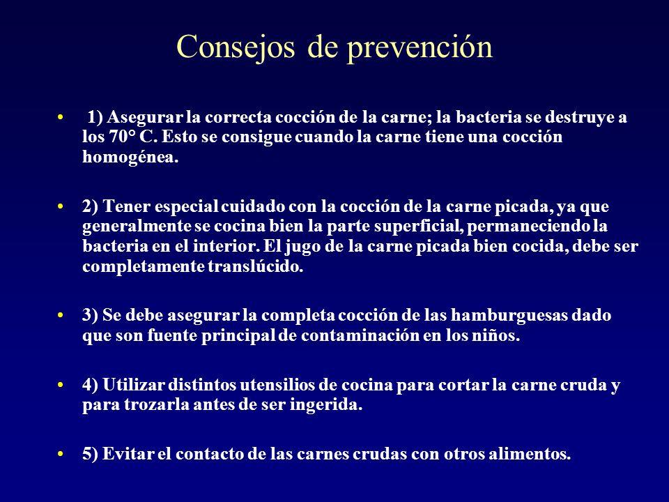 Consejos de prevención