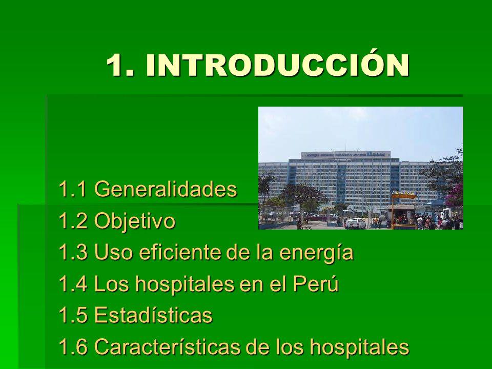 1. INTRODUCCIÓN 1.1 Generalidades 1.2 Objetivo