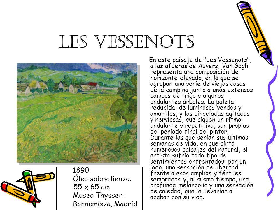 LES VESSENOTS 1890 Óleo sobre lienzo. 55 x 65 cm