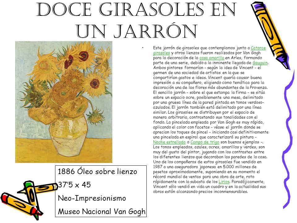 DOCE GIRASOLES EN UN JARRÓN