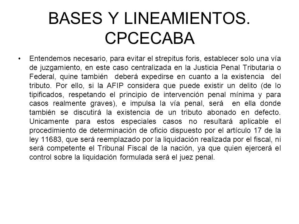 BASES Y LINEAMIENTOS. CPCECABA