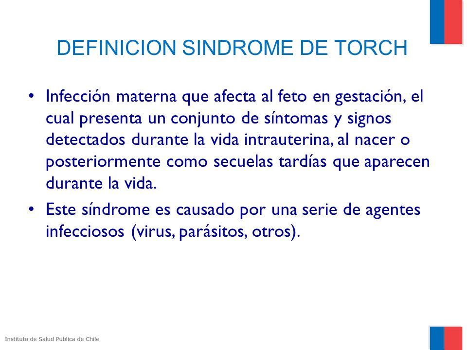 DEFINICION SINDROME DE TORCH