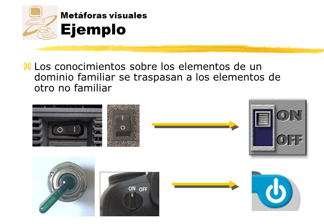 Metáforas visuales Ejemplo