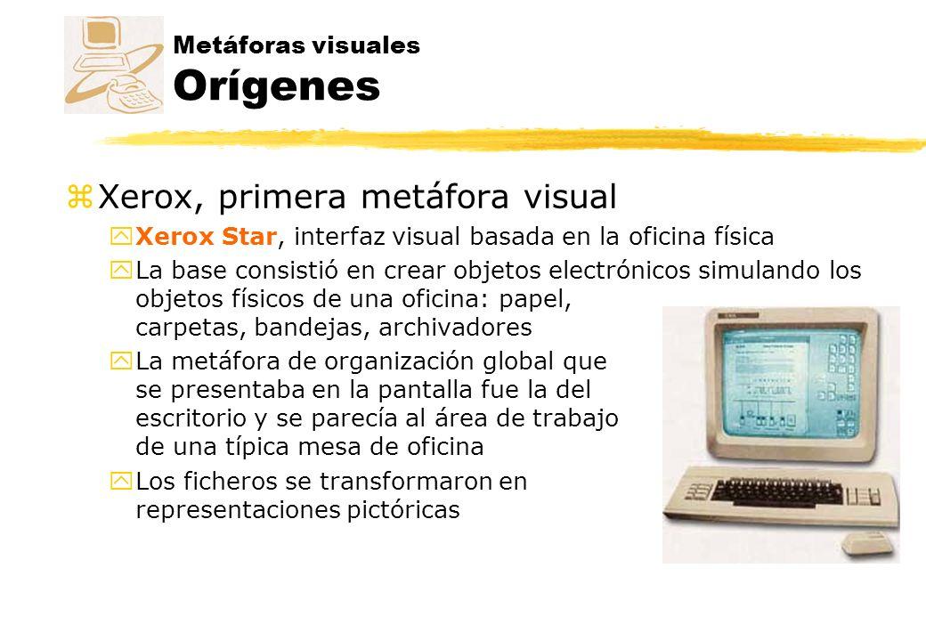 Metáforas visuales Orígenes