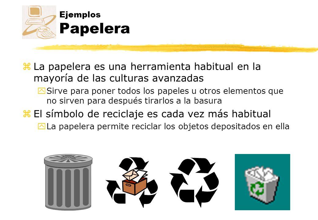 El símbolo de reciclaje es cada vez más habitual