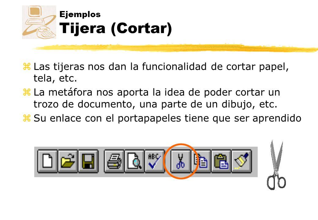 Ejemplos Tijera (Cortar)