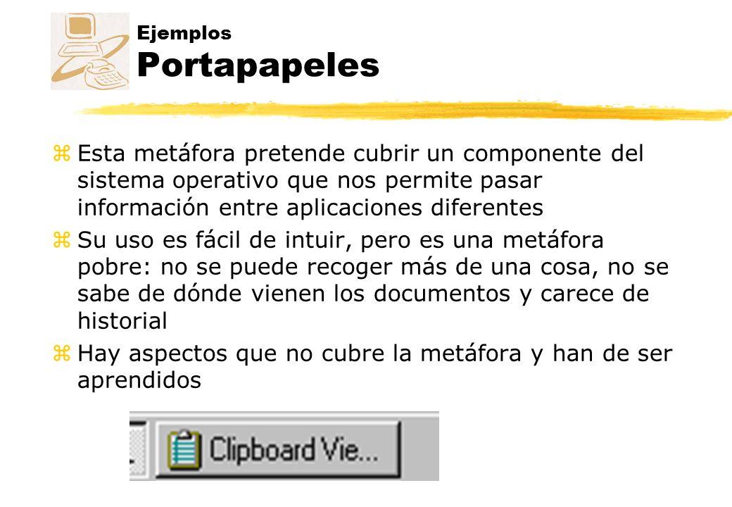 Ejemplos Portapapeles