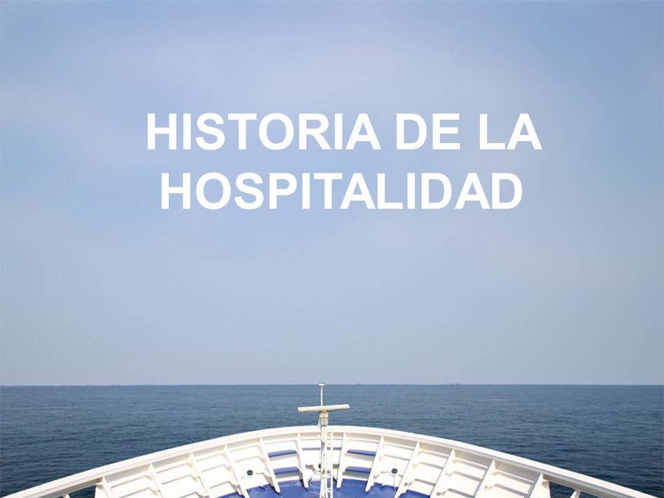 HISTORIA DE LA HOSPITALIDAD