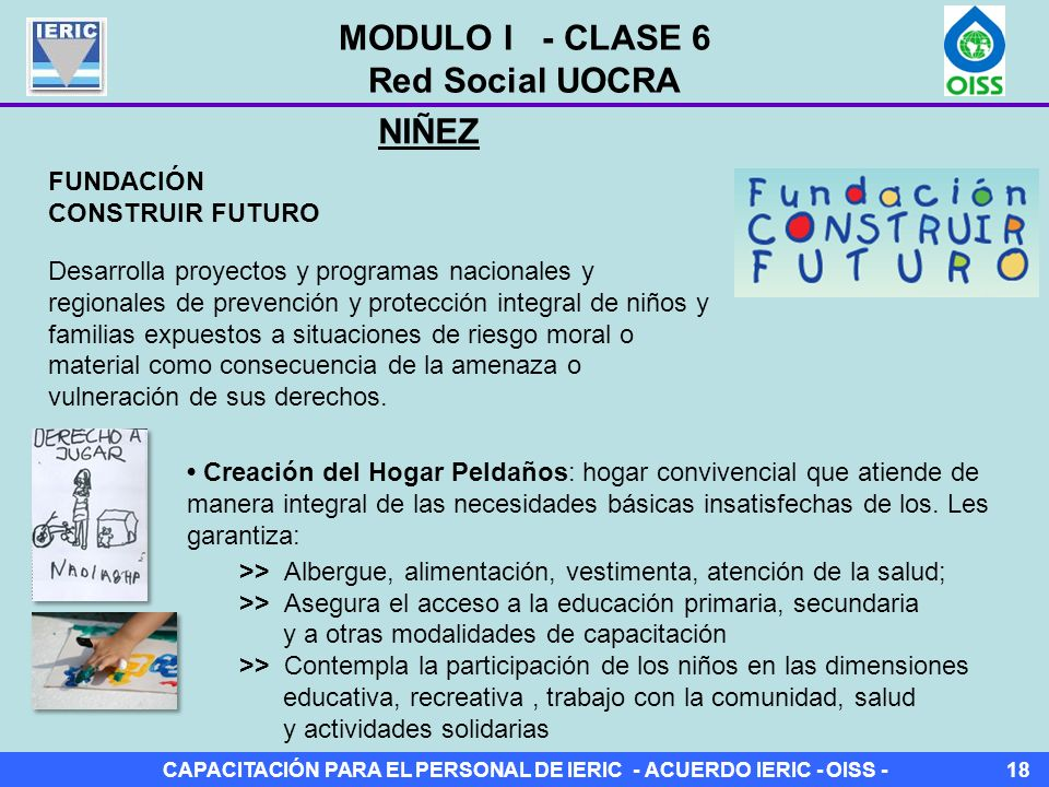 MODULO I - CLASE 6 Red Social UOCRA