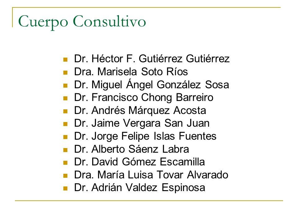Cuerpo Consultivo Dr. Héctor F. Gutiérrez Gutiérrez