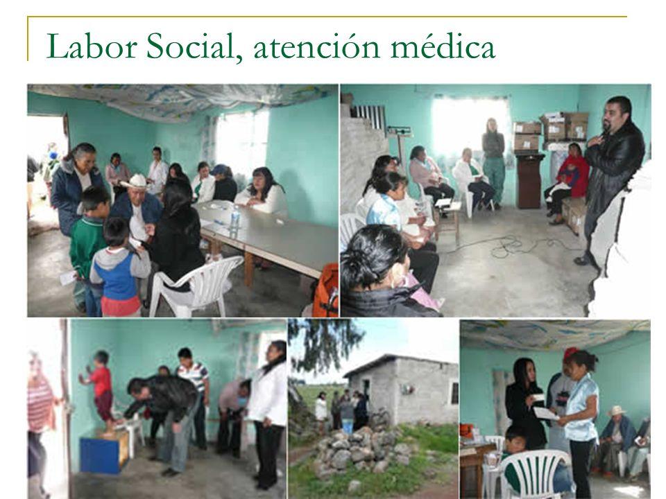 Labor Social, atención médica