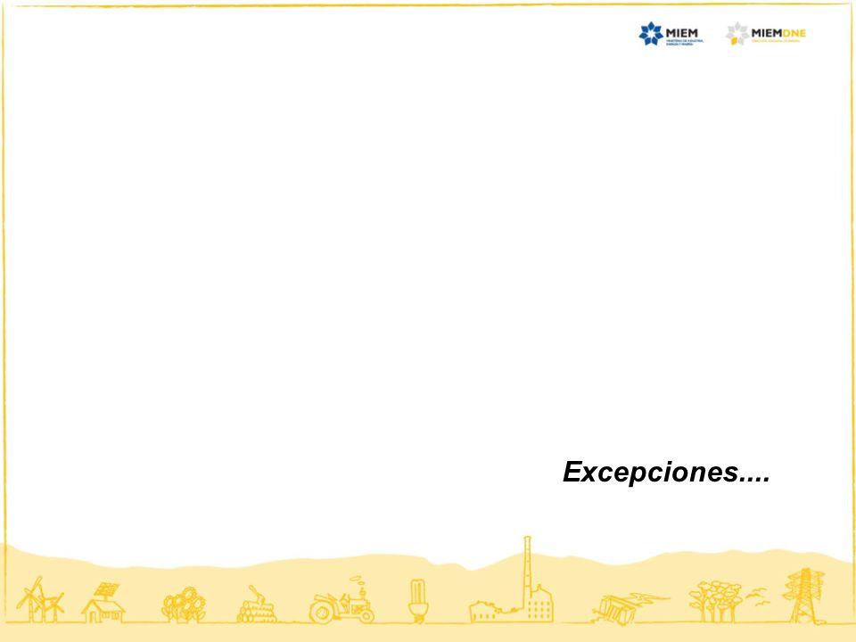 Excepciones....