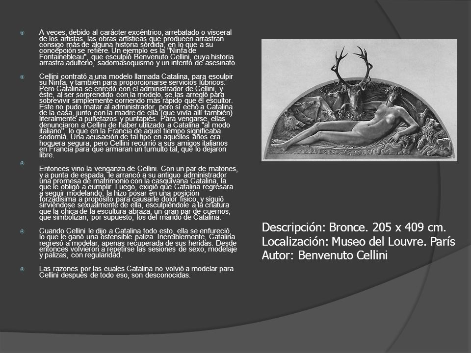 Descripción: Bronce. 205 x 409 cm.