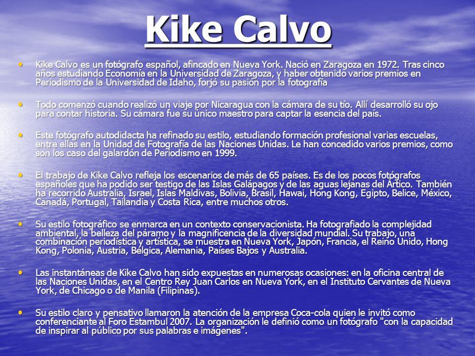 Kike Calvo