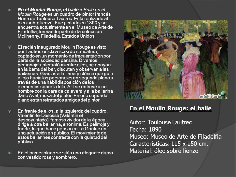 En el Moulin Rouge: el baile