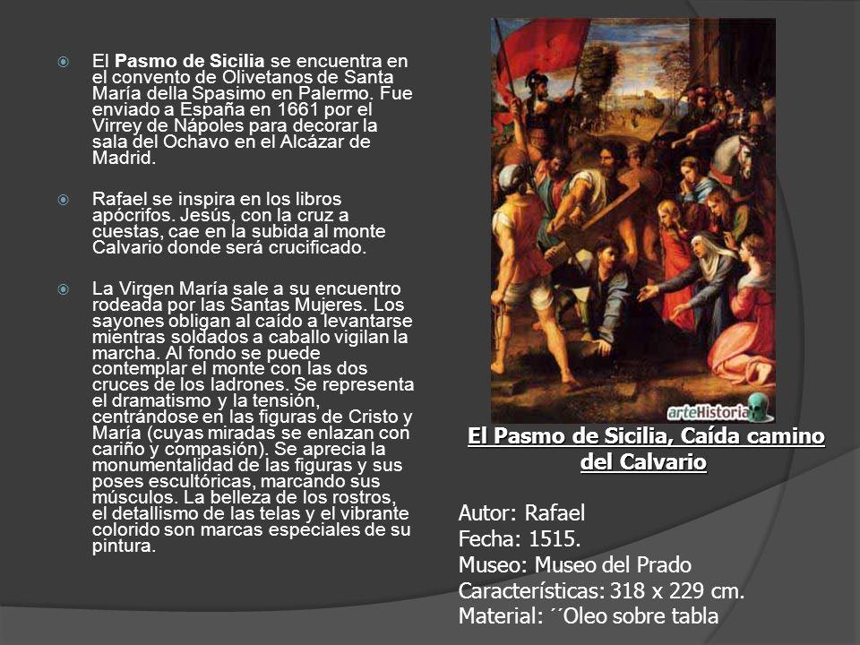 El Pasmo de Sicilia, Caída camino del Calvario
