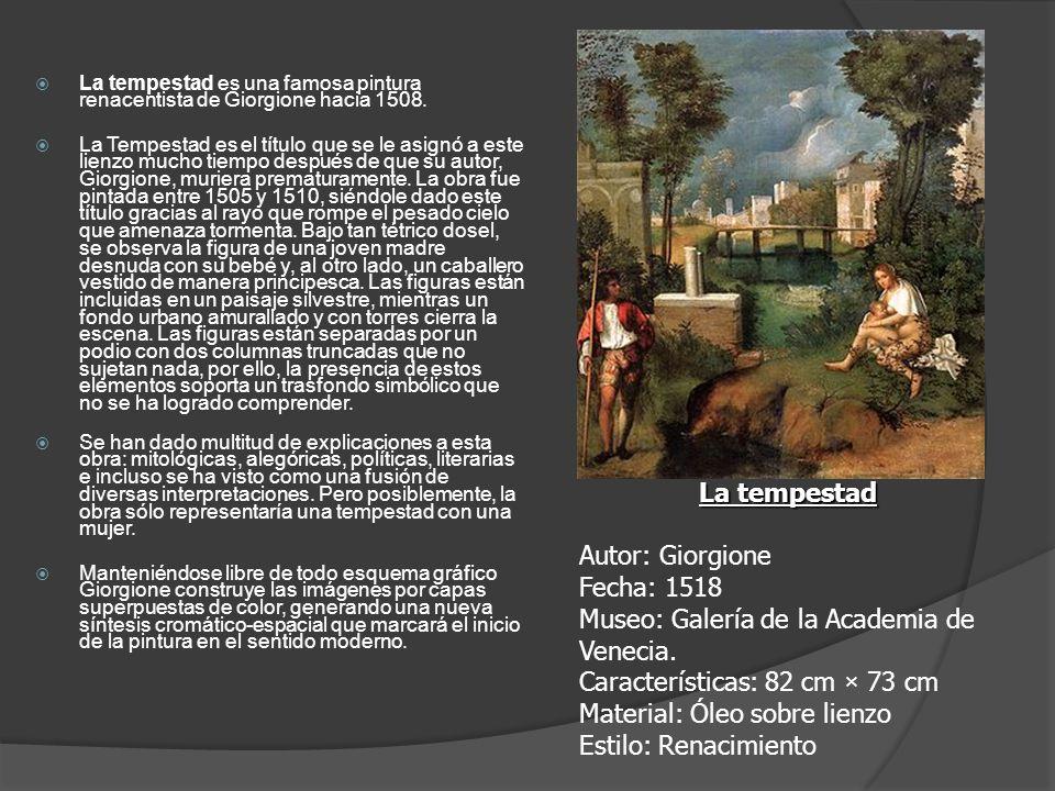 Museo: Galería de la Academia de Venecia.