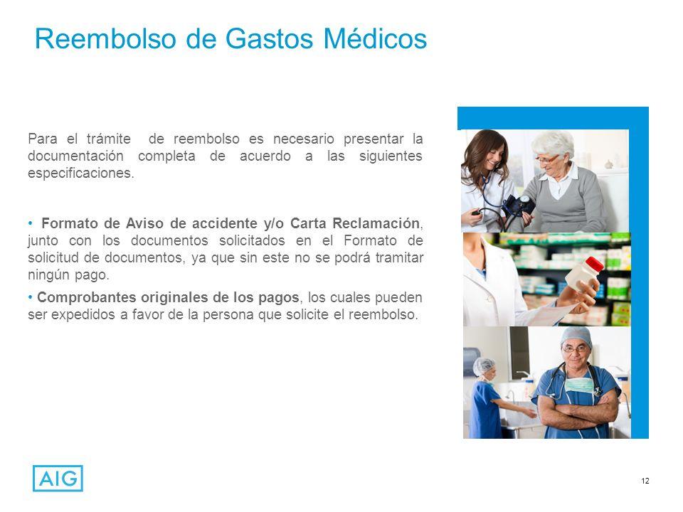 Reembolso de Gastos Médicos