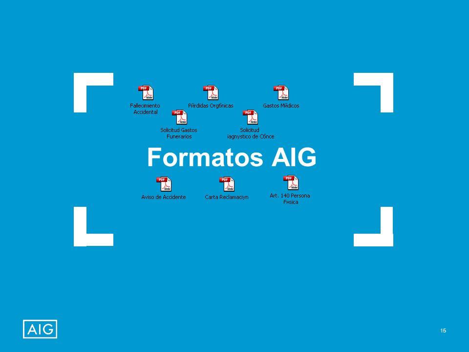 Formatos AIG