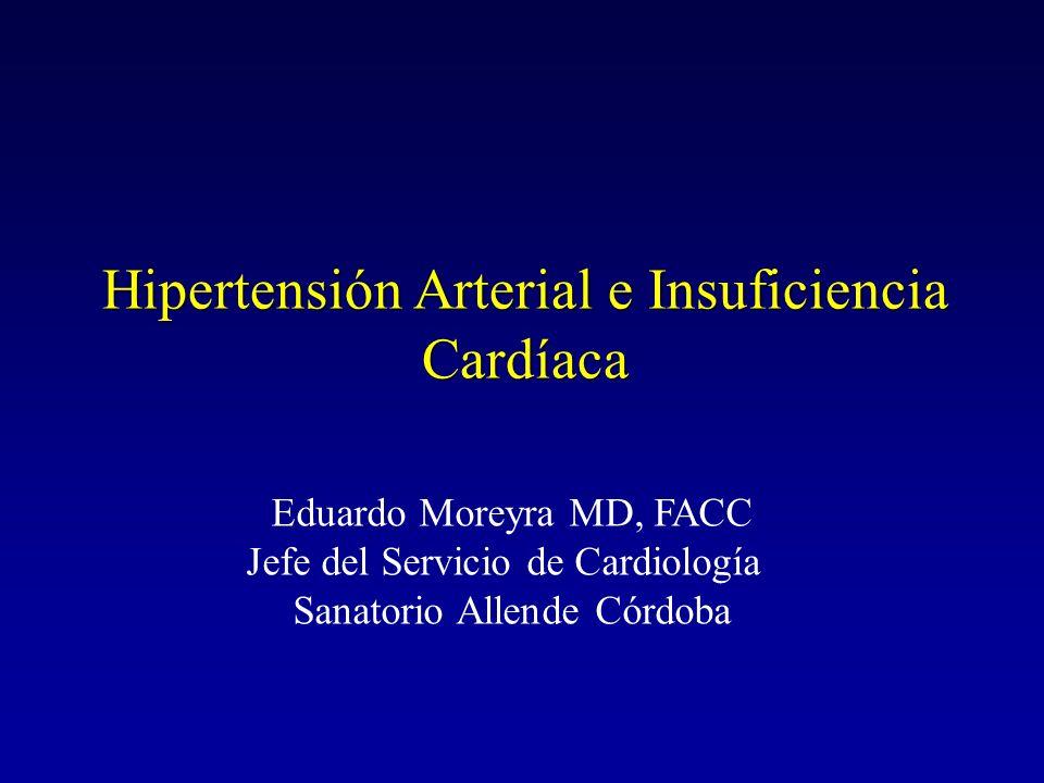 Hipertensión Arterial e Insuficiencia Cardíaca