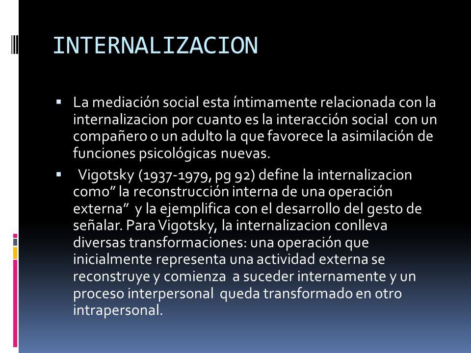 INTERNALIZACION