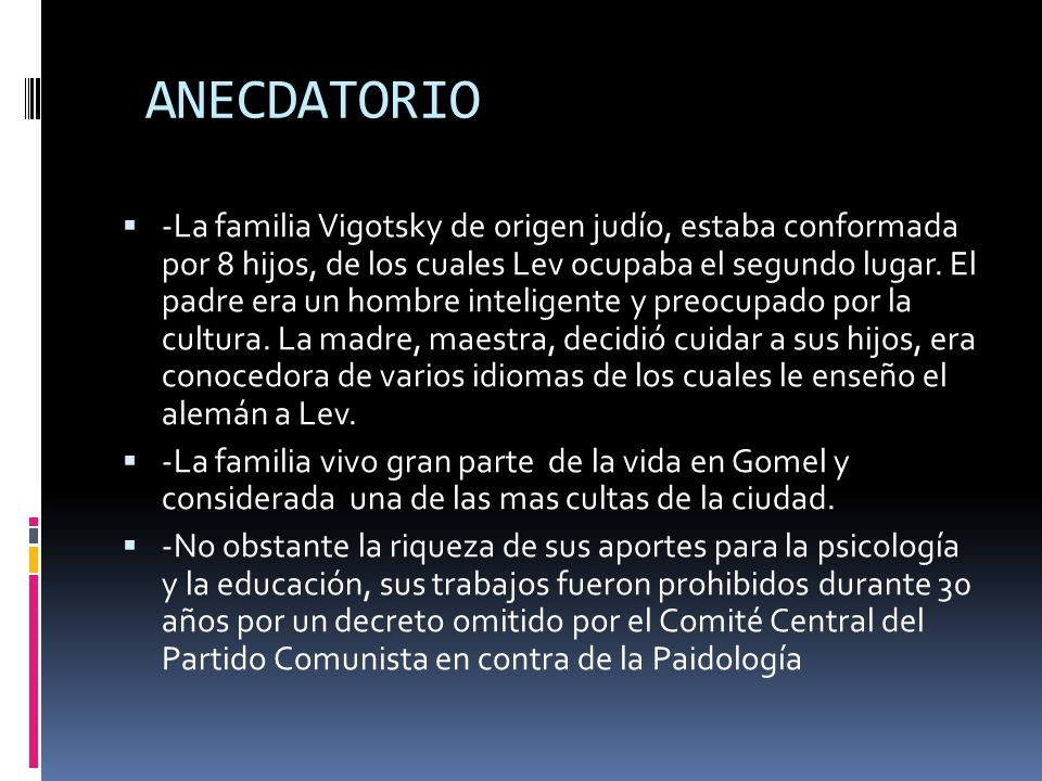 ANECDATORIO