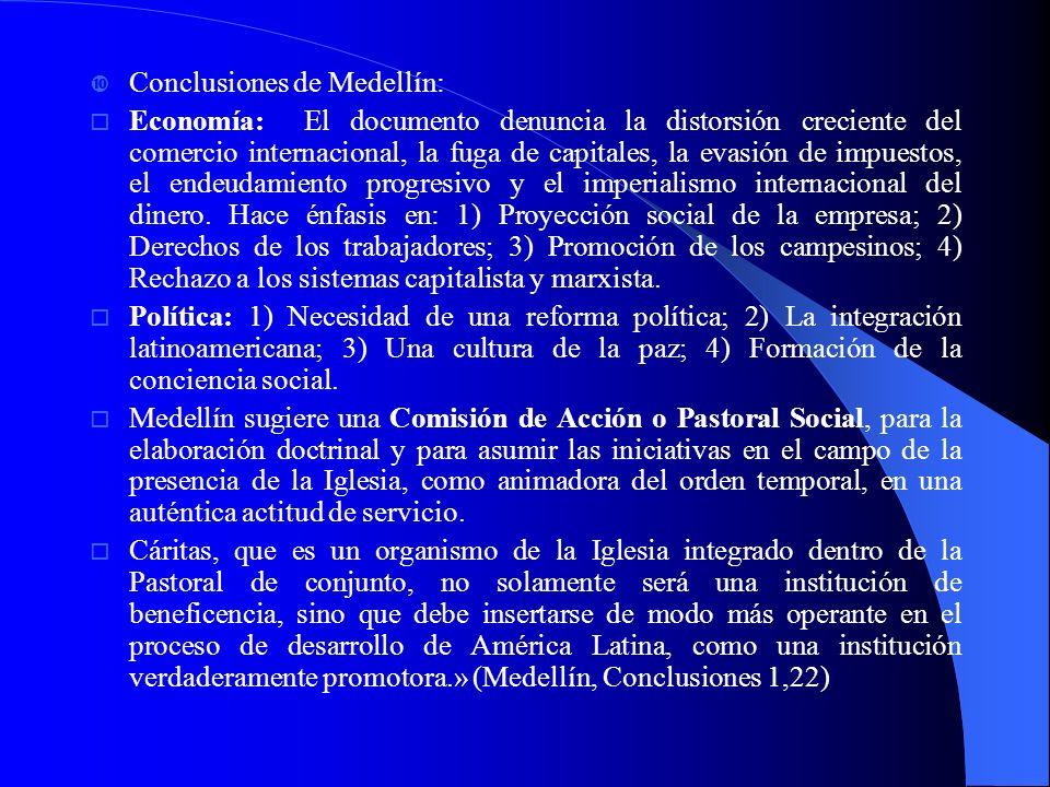 Conclusiones de Medellín: