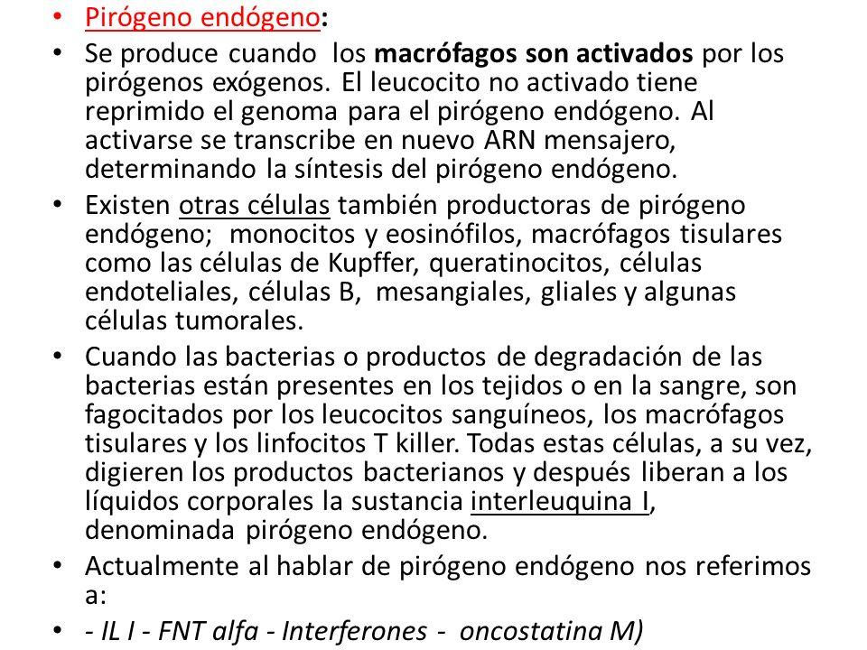 Pirógeno endógeno: