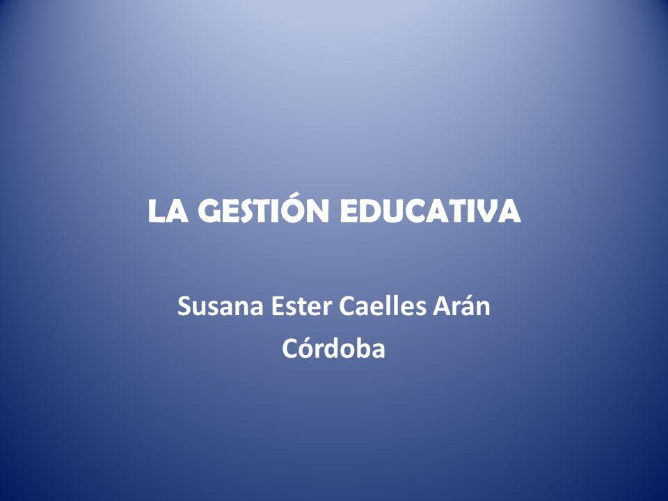 Susana Ester Caelles Arán Córdoba