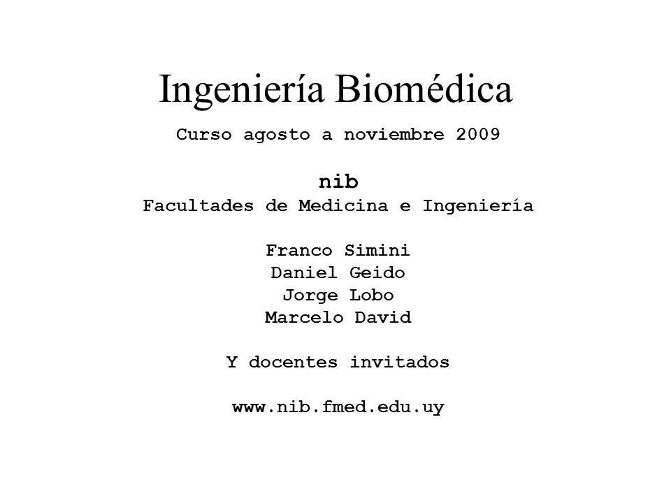 Facultades de Medicina e Ingeniería