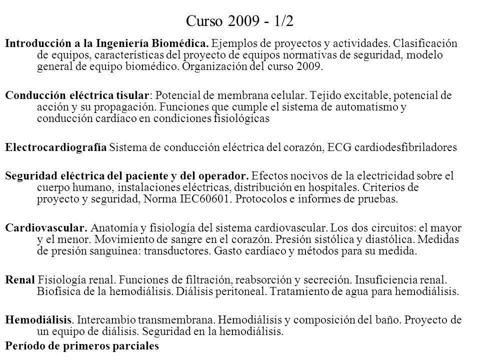 Curso 2009 - 1/2