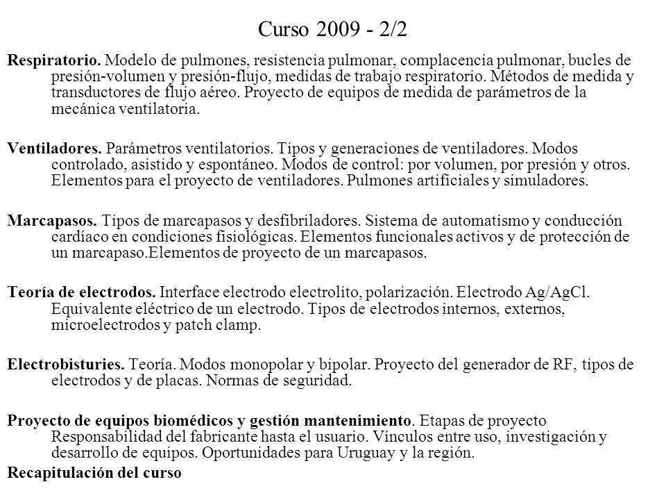 Curso 2009 - 2/2
