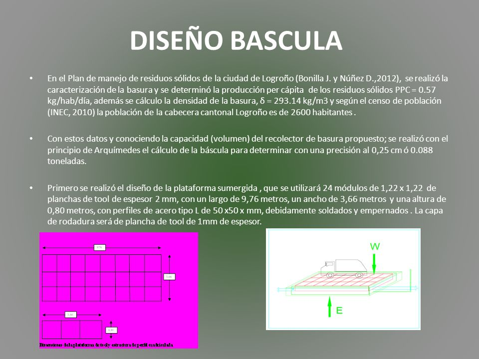 DISEÑO BASCULA