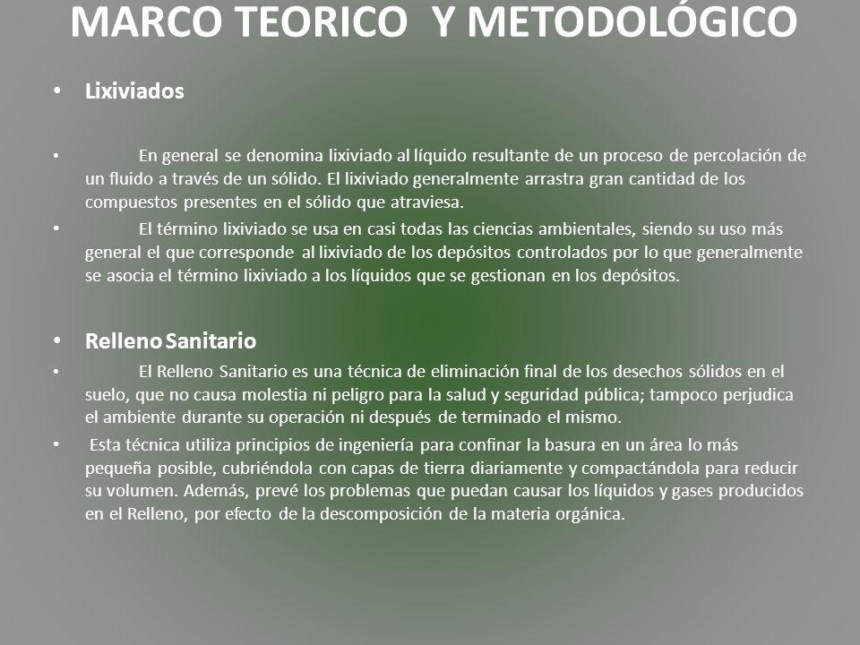 MARCO TEORICO Y METODOLÓGICO