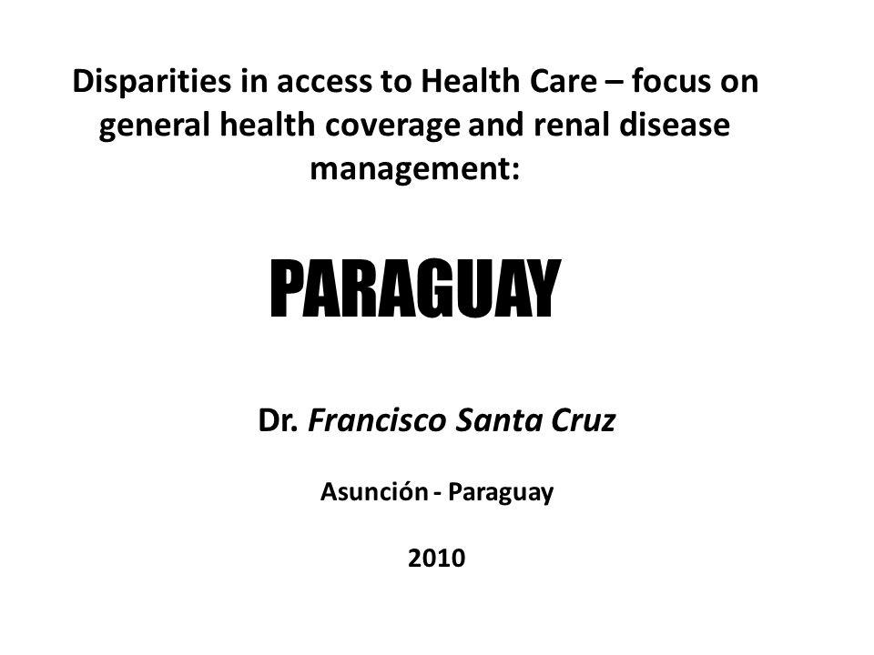 Dr. Francisco Santa Cruz Asunción - Paraguay 2010