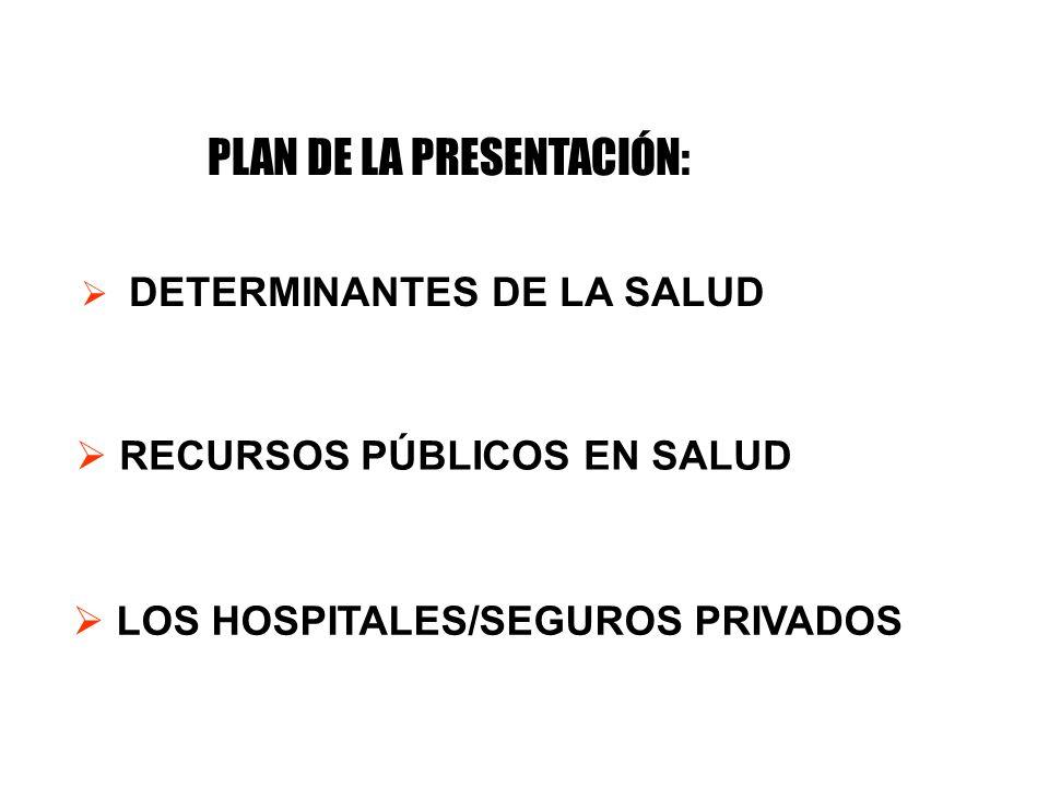 PLAN DE LA PRESENTACIÓN: