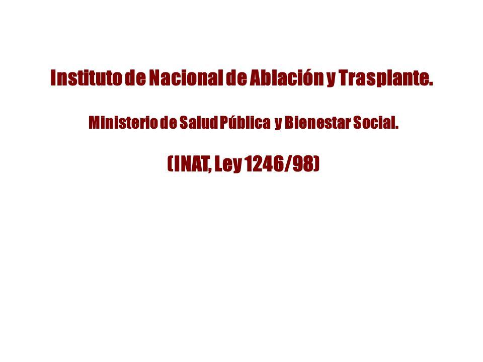 Instituto de Nacional de Ablación y Trasplante