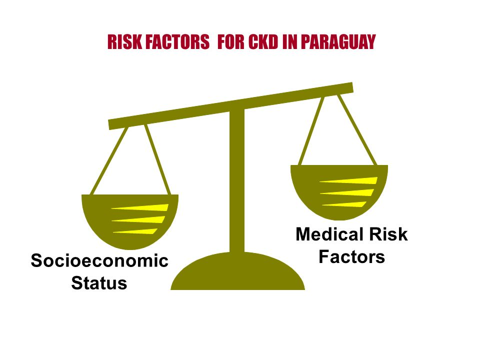 RISK FACTORS FOR CKD IN PARAGUAY