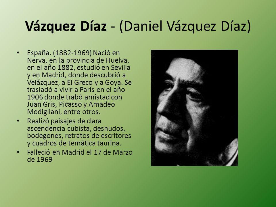 Vázquez Díaz - (Daniel Vázquez Díaz)