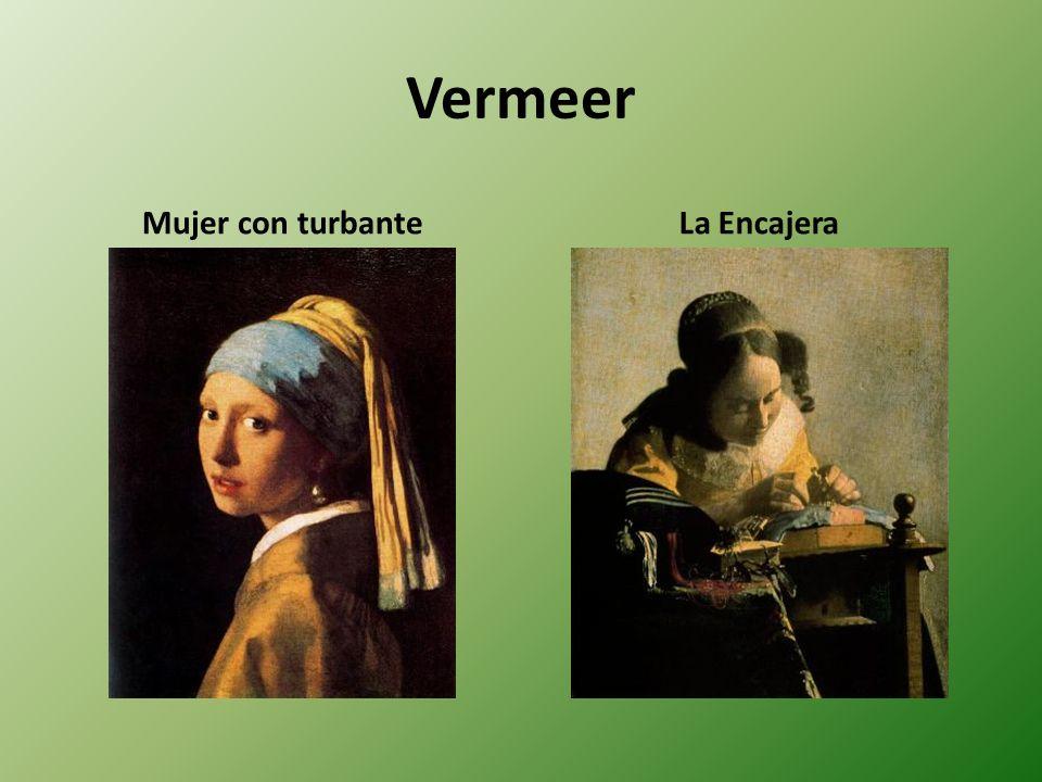 Vermeer Mujer con turbante La Encajera
