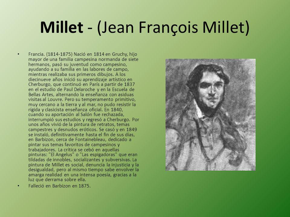 Millet - (Jean François Millet)