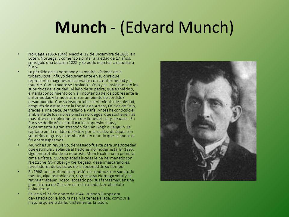 Munch - (Edvard Munch)
