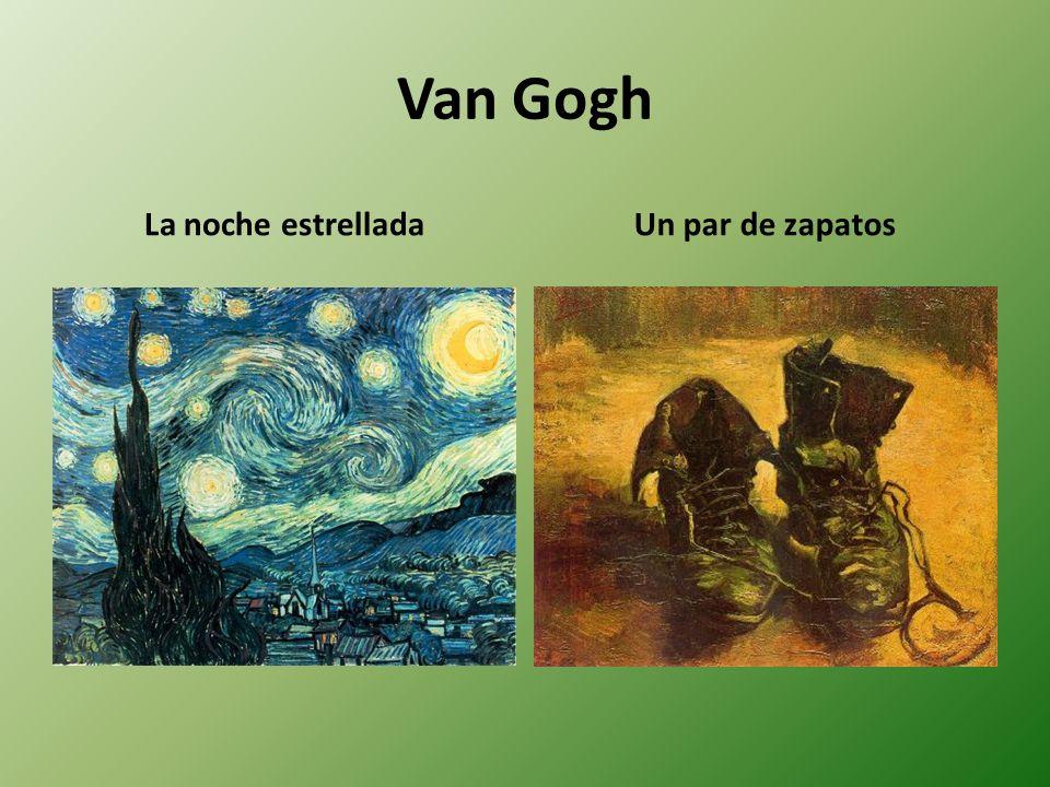 Van Gogh La noche estrellada Un par de zapatos