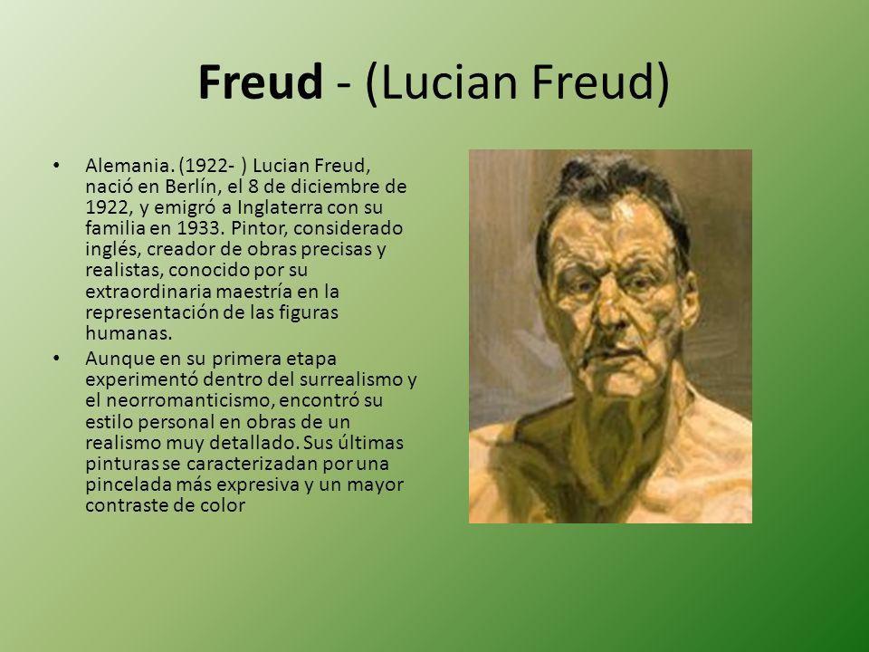 Freud - (Lucian Freud)