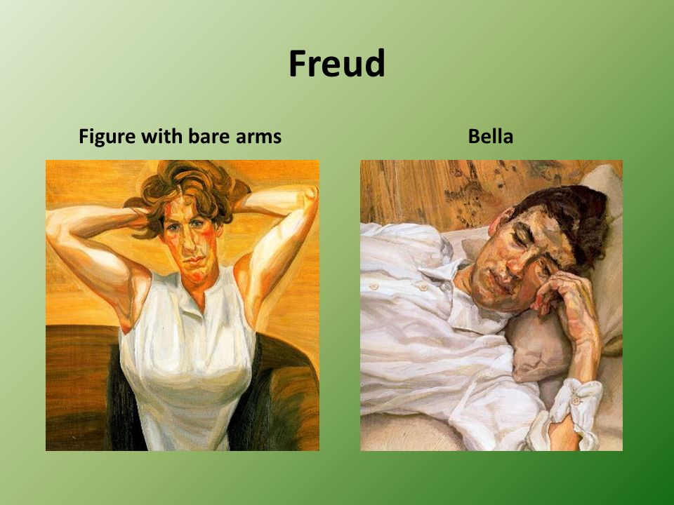 Freud Figure with bare arms Bella