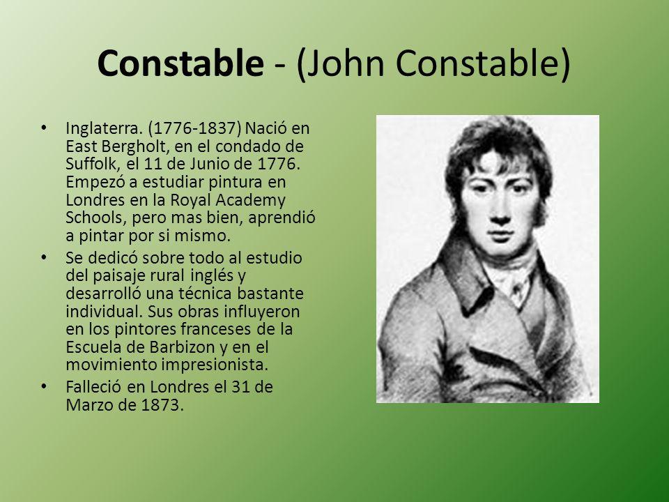 Constable - (John Constable)
