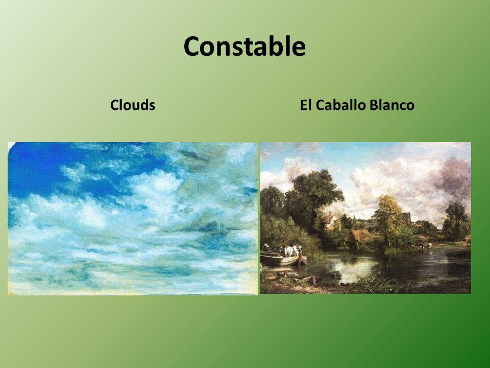 Constable Clouds El Caballo Blanco